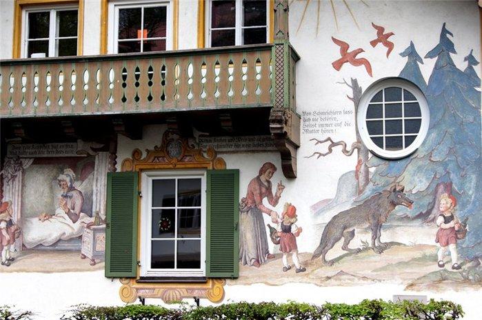 Обераммергау- маленькая деревушка с большой историей. 79510