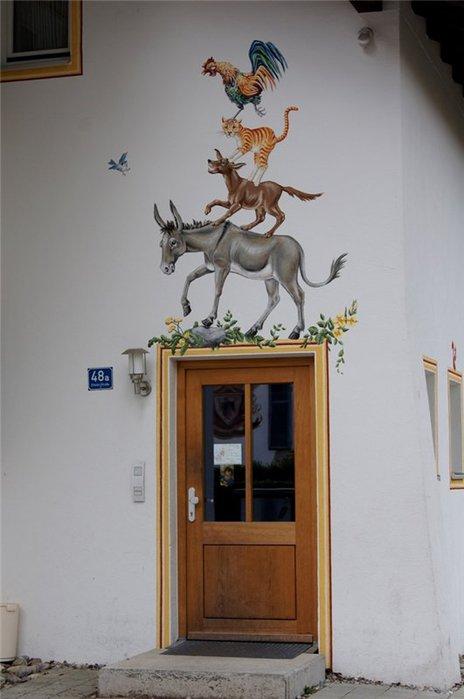 Обераммергау- маленькая деревушка с большой историей. 39533