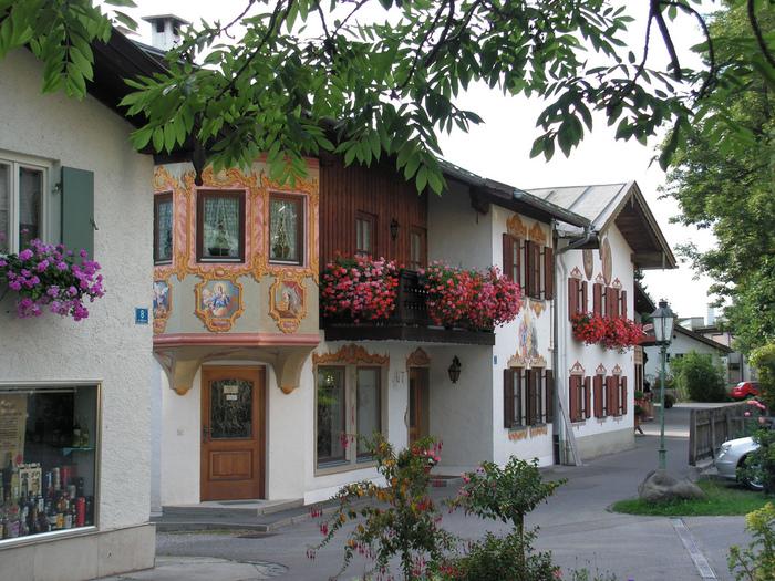 Обераммергау- маленькая деревушка с большой историей. 97888