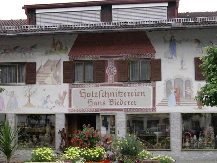 Обераммергау- маленькая деревушка с большой историей. 42282