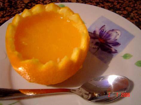 Желе из апельсинов и корки в мультиварке