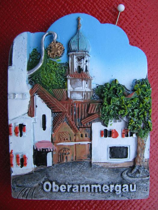 Обераммергау- маленькая деревушка с большой историей. 10317