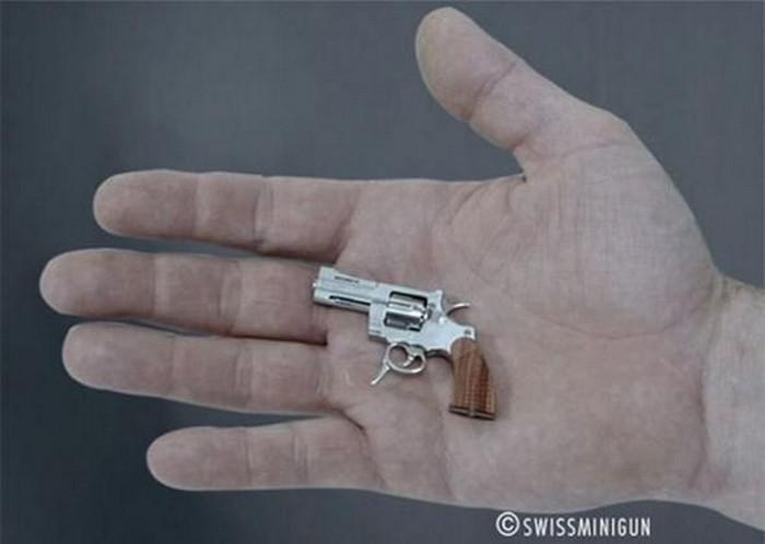 Фотографии миниатюрного оружия
