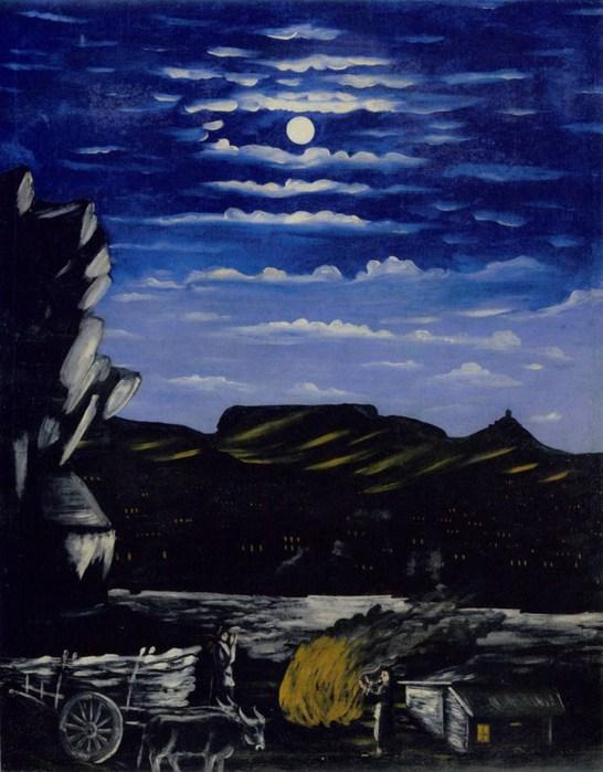 Niko-Pirosmani-Арсенальская-гора-ночью-1908-Клеенка-масло.-113X91-ГМИ-Грузии-Тбилиси- (546x700, 90Kb)