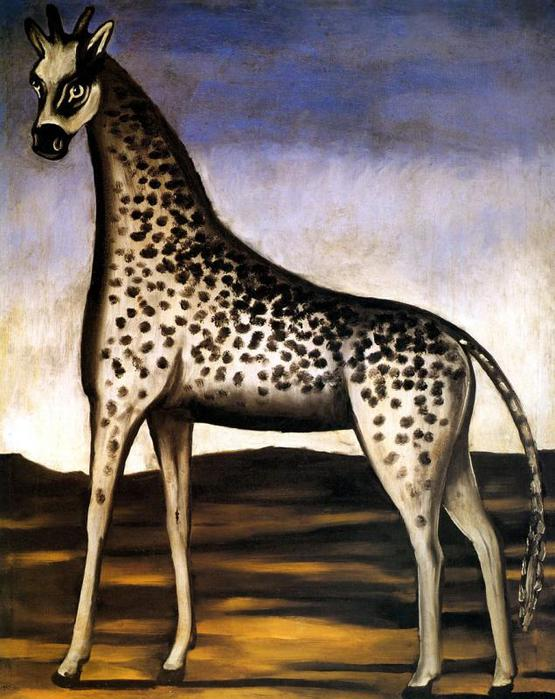 Нико-Пиросманашвили-(Пиросмани)--Жираф (555x700, 69Kb)