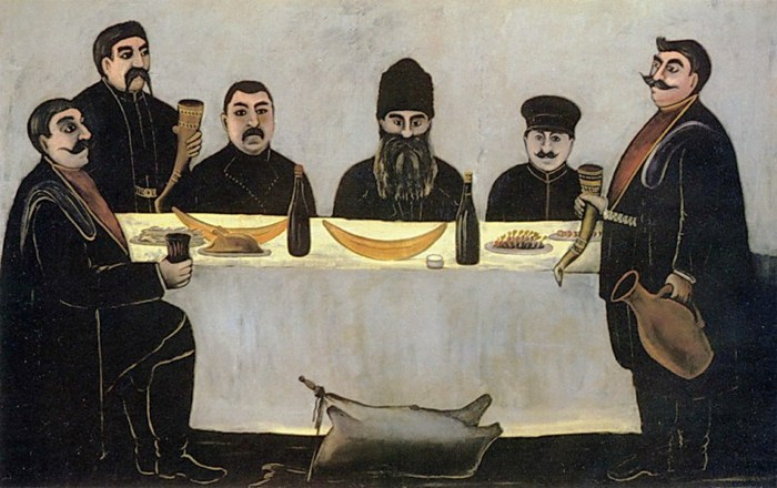 Niko-Pirosmani-Кутеж.-1905-07-Клеенка-масло.-113х177-ГМИНВ-Москва- (700x440, 79Kb)