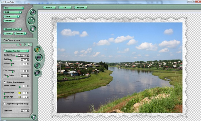 Как сделать в фотошопе рамку вокруг фото