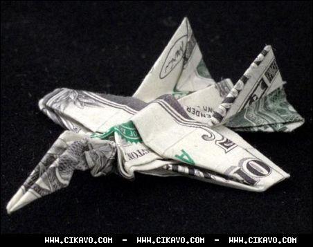 Так что материалом для работы может послужить даже денежная банкнота.  Правда из денег намного сложнее.