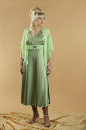 короткие осенние платья с четверть рукавами