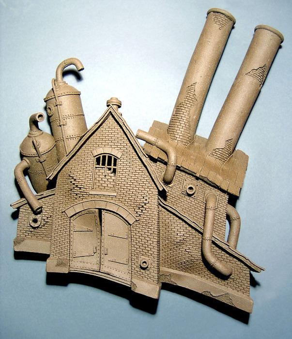 Креативные керамические скульптуры Джон Brickels