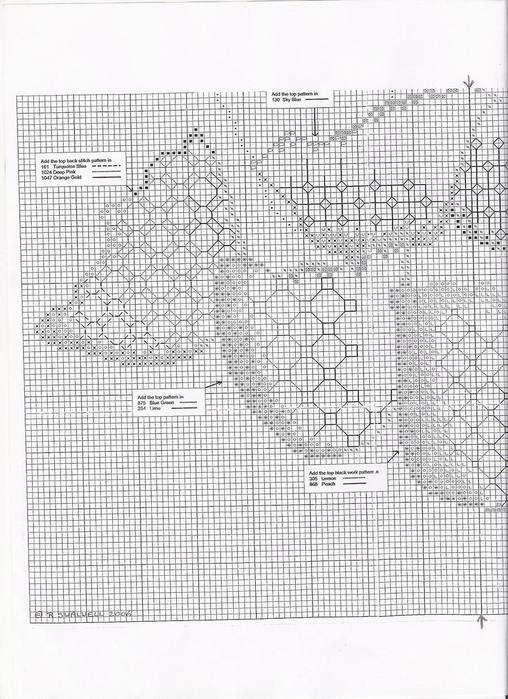 Blackwork Tulpany -4 (508x700,