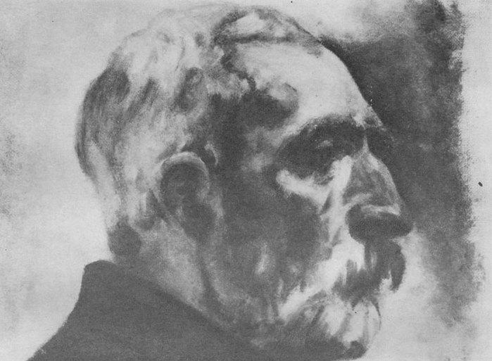 pirosmani7.jpg, Нико. Портрет неизвестного художника (700x513, 65Kb)