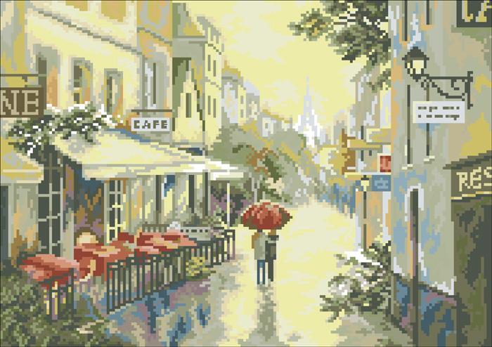 Скачать книгу Париж после дождя - схема крестиком Название: Париж после дождя - схема крестиком Автор: коллектив Язык...