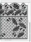 Идеи для филейного вязания - 200 фото (можно вышить или для жаккарда).  Прочитать целикомВ.