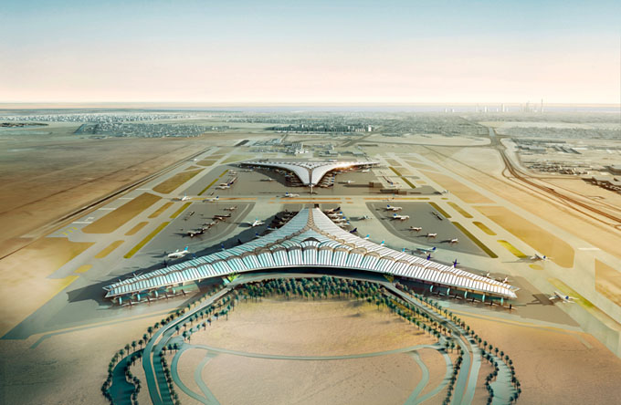 Kuwait-International-Airport-by-Foster-and-Partners02 (680x444, 89Kb)