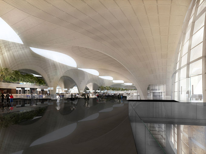 Kuwait-International-Airport-by-Foster-and-Partners06 (680x510, 74Kb)