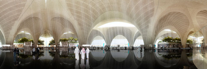 Kuwait-International-Airport-by-Foster-and-Partners03 (680x227, 48Kb)