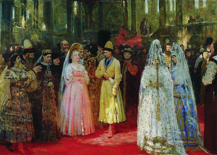 800px-Grand_Duke's_bride_by_Repin (700x500, 184Kb)