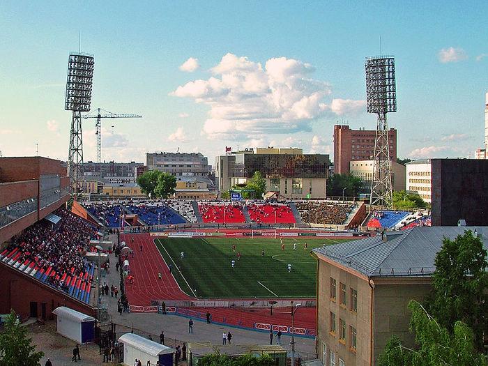 Стадион новосибирского футбольного клуба Сибирь допущен до пров