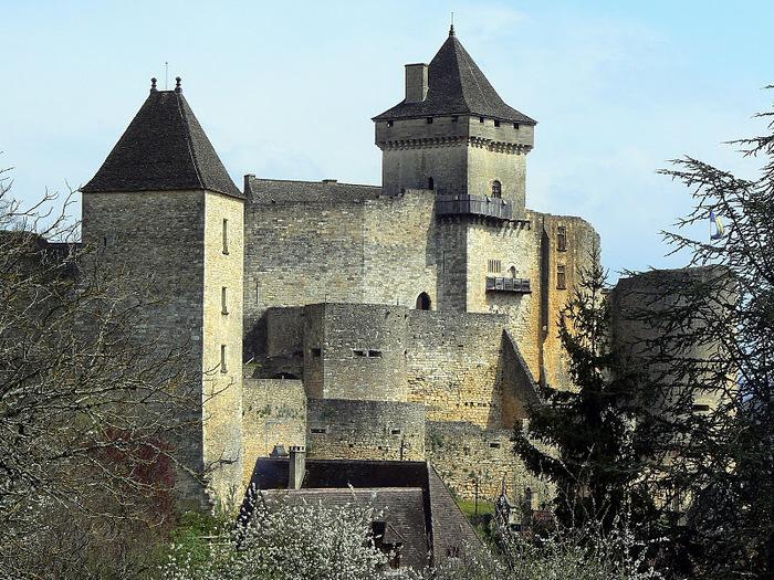 Замок Кастельно ( Chateau de Castelnaud ) 27518