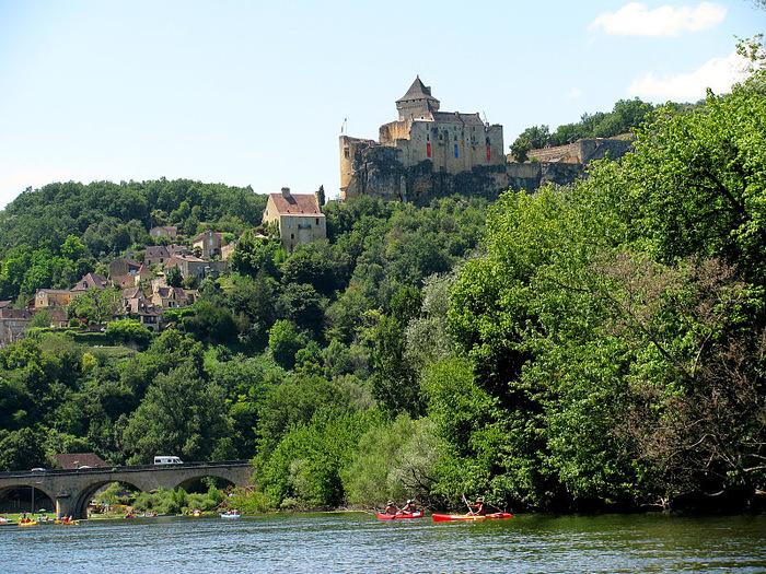 Замок Кастельно ( Chateau de Castelnaud ) 95774