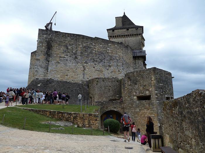 Замок Кастельно ( Chateau de Castelnaud ) 18426