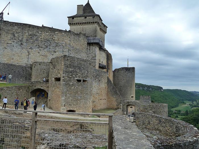 Замок Кастельно ( Chateau de Castelnaud ) 34252