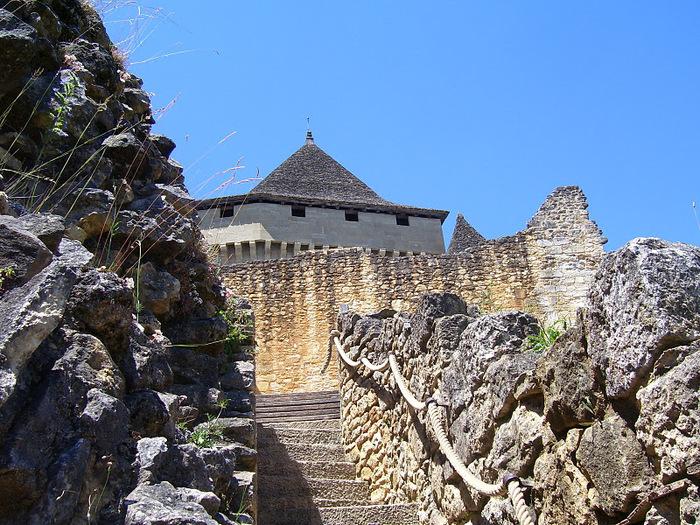 Замок Кастельно ( Chateau de Castelnaud ) 67769