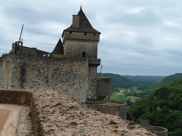 Замок Кастельно ( Chateau de Castelnaud ) 65534