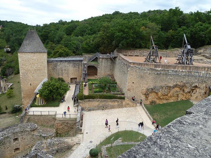 Замок Кастельно ( Chateau de Castelnaud ) 12827