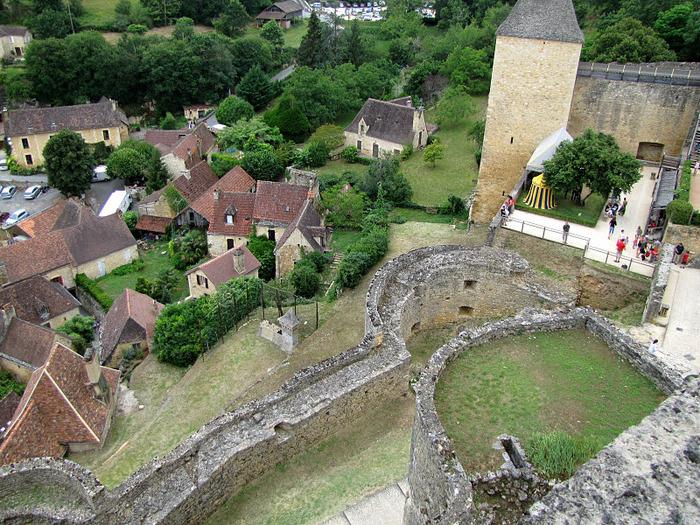 Замок Кастельно ( Chateau de Castelnaud ) 71130