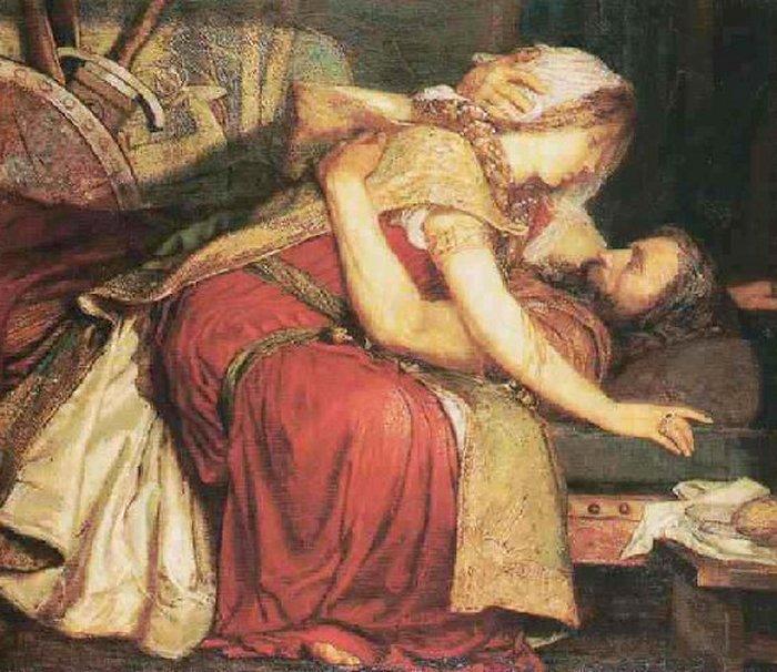 The Death of Tristram (700x606, 84Kb)