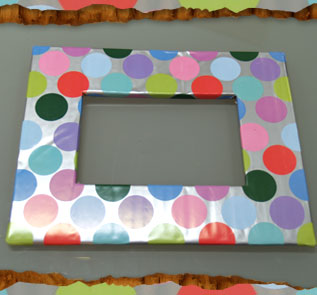 Рамка для фото из картона своими руками видео