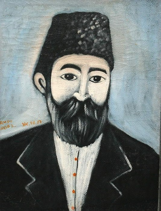 Niko-Pirosmani-Портрет-неизвестного-в-папахе.-Конец-ХIХ-начало-ХХ-в.- (534x700, 108Kb)