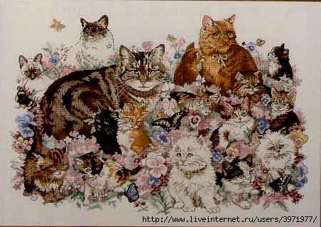 Название: Dimensions 72428 Feline Fascination Год / месяц: 1997 Автор: Payne Hart Издательство:Dimensions...