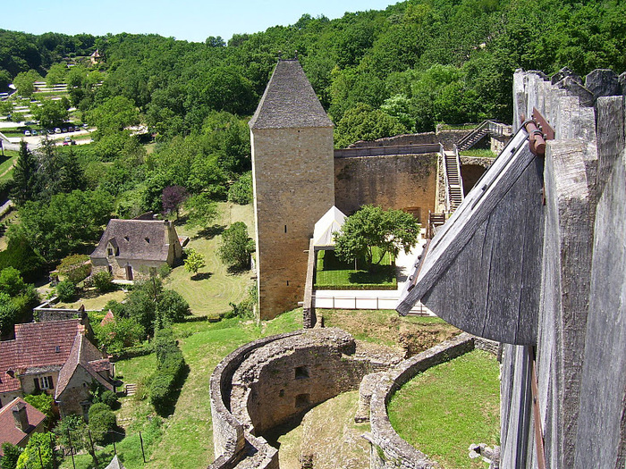 Замок Кастельно ( Chateau de Castelnaud ) 75686