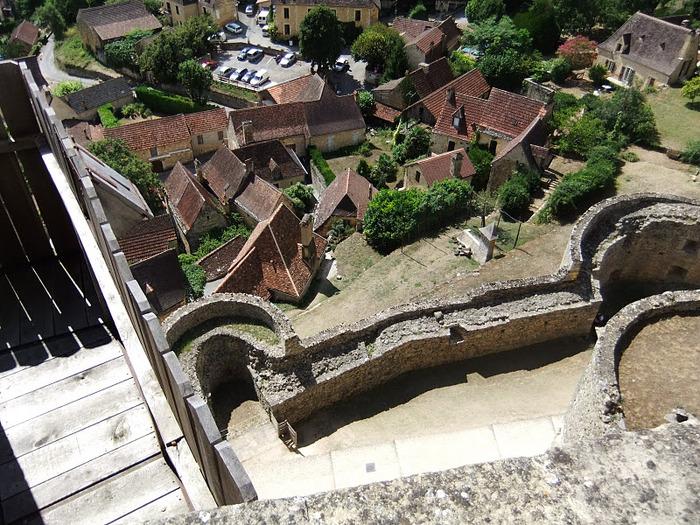 Замок Кастельно ( Chateau de Castelnaud ) 91763