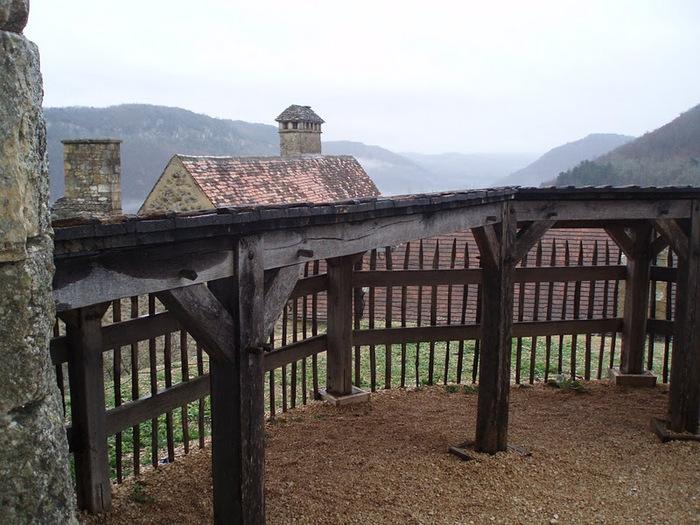 Замок Кастельно ( Chateau de Castelnaud ) 15214