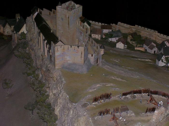 Замок Кастельно ( Chateau de Castelnaud ) 10058