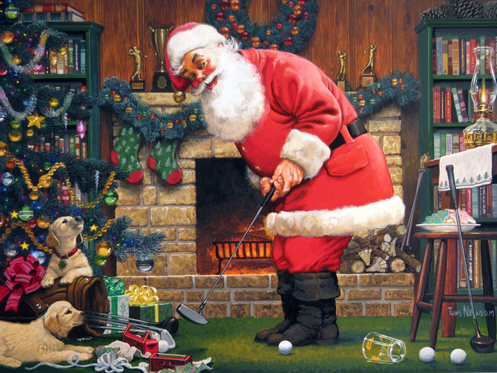 Santas-Putting-Practice (700x525, 195Kb)