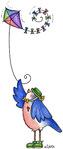 Превью Flying a Kite (244x576, 43Kb)