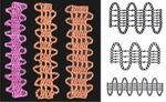 b азы вязания /b спицами схемы узоров.