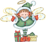 ������ Christmas Fairy01 (640x577, 93Kb)