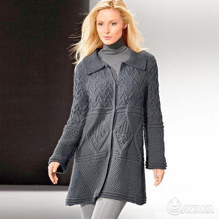 Вязаное пальто Merino-Classic.