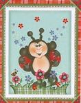 Превью открытка пчелка (454x576, 100Kb)