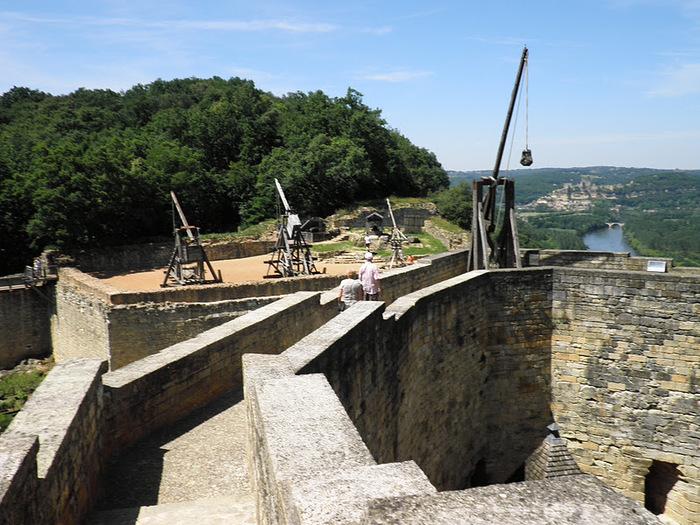Замок Кастельно ( Chateau de Castelnaud ) 61601