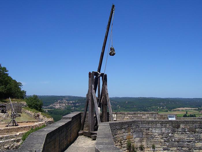Замок Кастельно ( Chateau de Castelnaud ) 89624