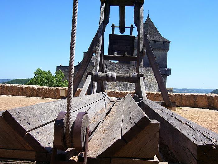 Замок Кастельно ( Chateau de Castelnaud ) 67888