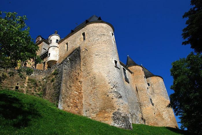 Замок Кастельно ( Chateau de Castelnaud ) 47922