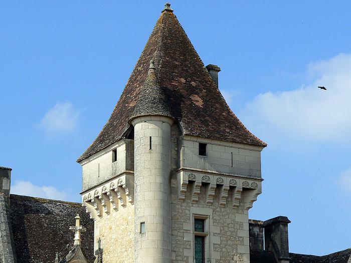 замок в Миланде (Chateau des Milandes). 94494